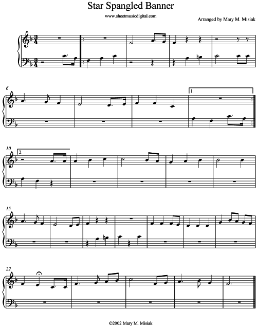 how to play star spangled banner on guitar tabs